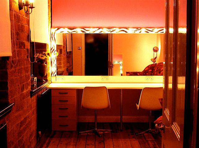 Sole Studios Dressing room Environment for video and photography