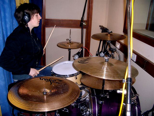 Sole Studios - Studio Two - Drum Tracking