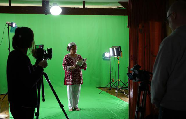Green Screen Hire at Sole Studios - Shooting a video